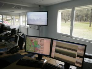 control y vigilancia de incendios